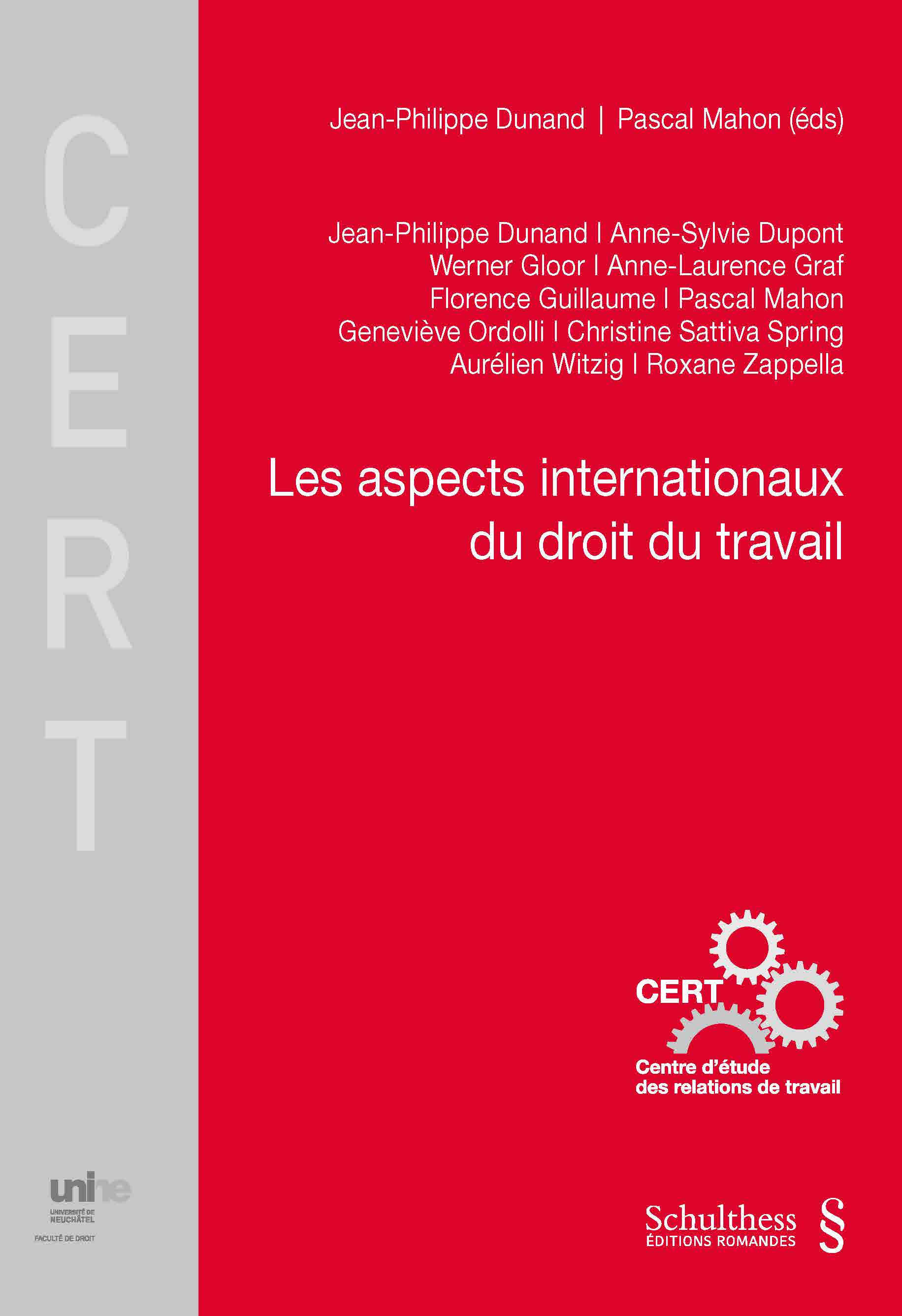 Les aspects internationaux en droit du travail