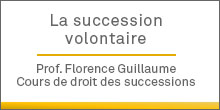 La succession volontaire