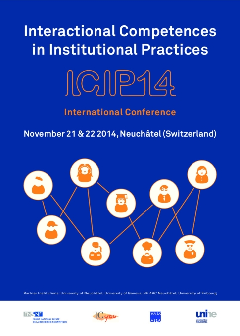 Conference poster with Title ICIP14