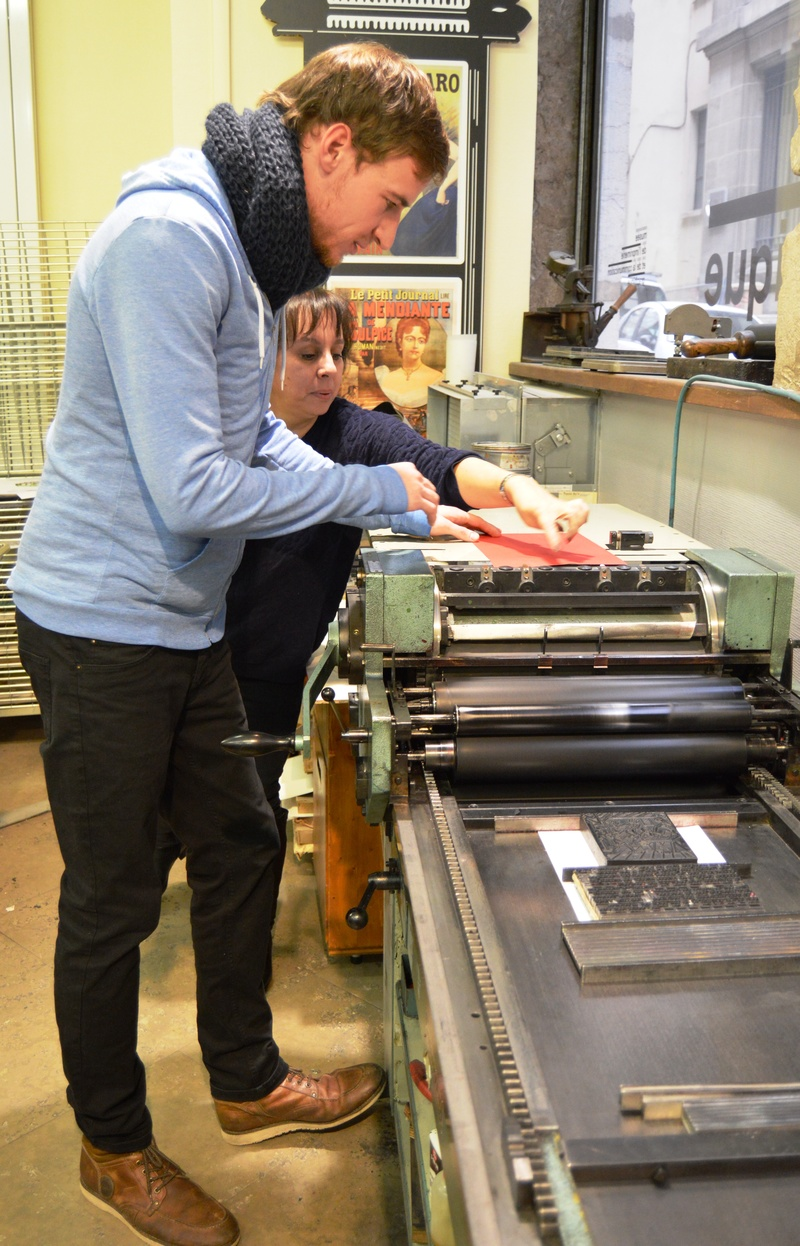 Museum of Printing at Lyon, 1-2 December 2016